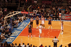 Madison Square Garden de Knicks X Indiana Pacers Photo stock
