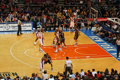 Madison Square Garden de Knicks X Indiana Pacers Image libre de droits