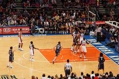 Madison Square Garden de Knicks X Indiana Pacers Photo libre de droits