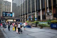Madison Square Garden extasia Fotos de Stock