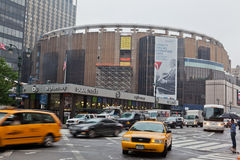 Madison Square Garden in New York City Stockbilder
