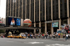 Madison Square Garden, NYC Royalty Free Stock Photo