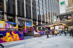Madison Square Garden NYC Royalty Free Stock Photos