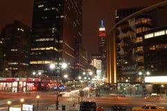 Madison Square Garden och byggnaden för väldetillstånd Royaltyfria Foton