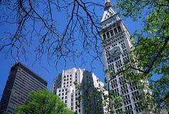 Madison Square Park New York USA. Buildings around Madison Square Park NYC stock photo