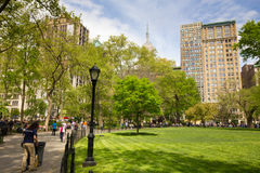 Madison Square Park NYC Royalty Free Stock Photography