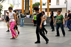 Madison Street dancers Royalty Free Stock Images
