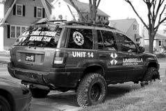MADISON, WI - 26 giugno 2014: Combattente Vehicile dello zombie Immagine Stock Libera da Diritti