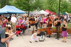 MADISON, WI - 26 juillet 2014 : Acte de musique du Colorado Image stock