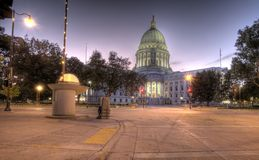Madison, Wisconisn HDR Royalty Free Stock Photo