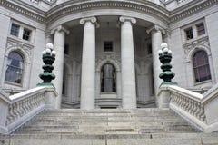 Madison, Wisconsin - Capitólio do estado Imagens de Stock