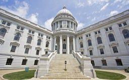 Madison, Wisconsin - het Capitool van de Staat Stock Afbeelding