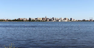 Madison Wisconsin Skyline Imagem de Stock