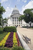 Madison, Wisconsin - State Capitol Stock Photo