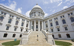 Madison, Wisconsin - State Capitol Stock Image