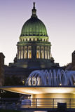 Madison, Wisconsin - State Capitol Royalty Free Stock Photos