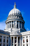 Madison Wisconsin State Capitol Building Royaltyfri Fotografi