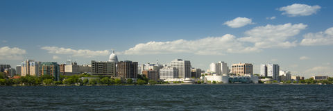 Madison wisconsin in summer Royalty Free Stock Photography