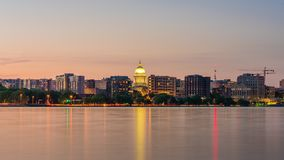 Madison Wisconsin, USA horisont lager videofilmer