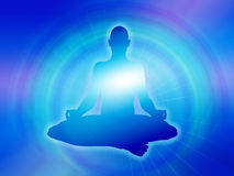 Maditationachtergrond van de yoga Royalty-vrije Stock Fotografie