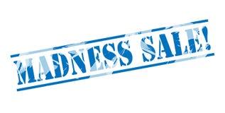 Madness sale blue stamp Stock Image