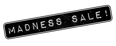 Madness Sale rubber stamp. Aaaaaaaaaaaaaaaaaaaa rubber stamp on white. Print, impress overprint Royalty Free Stock Photography