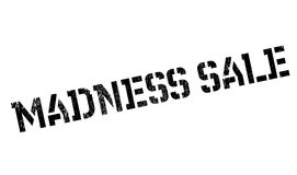 Madness Sale rubber stamp Royalty Free Stock Photo