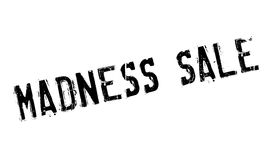 Madness Sale rubber stamp Royalty Free Stock Images