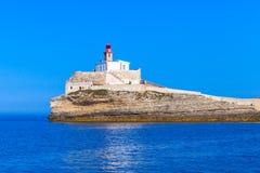 Madonetta, πύργος φάρων, νησί Κορσική Στοκ Εικόνα