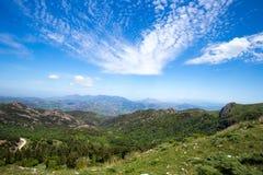 Madonie berg, Sicilien, Italien Royaltyfria Bilder