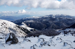Madonie mountain in winter Stock Photo