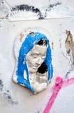 Madonna και παιδί ασβεστοκονιάματος εκείνων που σκοτώνονται που τιμούν την μνήμη σε Buchares Στοκ Εικόνα
