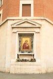 Madonna με το μωρό Ιησούς στη Ρώμη Στοκ Εικόνες