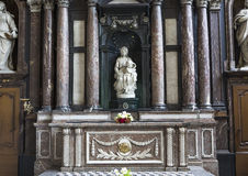 Madonna Брюгге Микеланджело, Брюгге, Бельгией Стоковые Фотографии RF