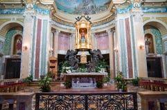 madonna Сицилия черной церков Стоковое Изображение RF