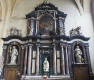 Madonna av Bruges av Michelangelo, Bruges, Belgien Arkivfoton