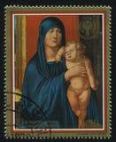 Madonna av den Haller familjen av Albrecht Durer Royaltyfri Fotografi