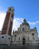 Madonna Basilica di Monte Berico in Vicenza Royalty Free Stock Photography