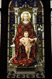 Madonna and child Stock Image