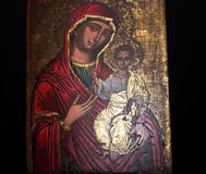 Madonna And Child Painting Stock Photography