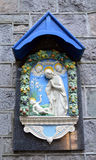 Madonna and child plaque, Aberdeen, Scotland Stock Photography