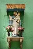 Madonna and Child Shrine Royalty Free Stock Images