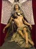 Madonna & Christ Statue - Orihuela - Spain Royalty Free Stock Photos
