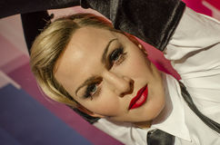 Madonna ciccone. In the famous wax museum Madame tussauds london, england Stock Photography