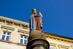 Madonna, Cieszyn, Polônia Fotos de Stock Royalty Free