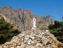 Madonna on Col of Bavella. Corse - Corsica, France: Madonna on Col of Bavella Stock Photo