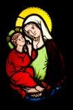 Madonna e criança Imagem de Stock Royalty Free