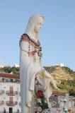 Madonna con i rosari Fotografia Stock