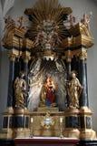 Madonna con il bambino Gesù Immagine Stock Libera da Diritti