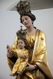 Madonna con il bambino Gesù Immagini Stock Libere da Diritti
